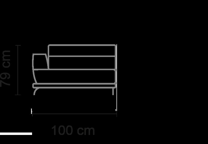 210 cm75 - 25 cm